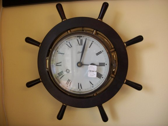 8 Day Wall Clocks 1292 Schatz Ships Bell Strike Wall Clock